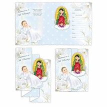 DPW Baptism Bautizo Christening Party Invitations Spanish Invitaciones V... - $15.79