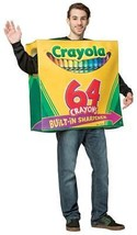 Crayola Crayons Box Costume Adult Men Women Halloween Party Unique GC4575 - $59.99