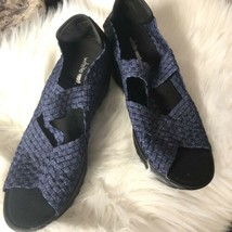 White Mountain Blue Weave Sandals Size 10 - $14.85