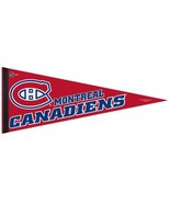 Montreal Canadiens Pennant 12x30 Classic Style Special Order**Free Shipp... - $13.50
