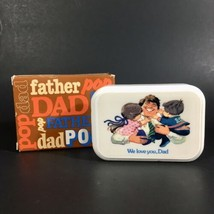 """Vintage Avon """"That's My Dad"""" Decal Soap """"We Love You Dad"""" Father's Day G... - $6.76"""