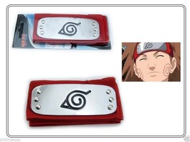 Naruto Red Leaf Village Kakashi Sasuke Sakura Konoha Ninja Headband with... - $4.94