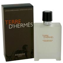 Hermes Terre D'Hermes 3.4 Oz Aftershave Lotion image 1