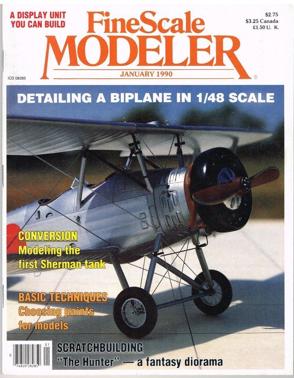 Fine Scale Modeler Magazine January 1990 Red and 18 similar items