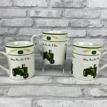 John Deere Nothing Runs Like A Deer Coffee Mug Cup by Gibson Tractors an... - $24.19