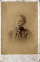 L.E. Gammon Cabinet Photo of Young Woman - Boston, Massachusetts (1896) - $17.50
