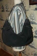 Ralph Lauren Black Nylon Hobo Bag - $29.00