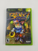 Blinx The Time Sweeper (Xbox 2002 Microsoft) Complete, Instructions & Ca... - $11.29