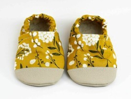 Non-Slip Mustard Floral Yeti Moccs - $21.78+