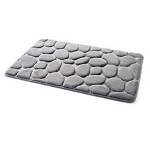 Pebble Flannel Non Slip Rug Foam Pad Mat Floor 40*60cm Carpet Home Garden Decor image 8