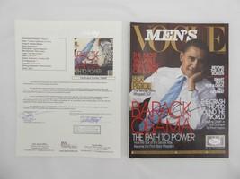 President Barack Obama 2006 Men's Vogue Magazine Signed Autographed JSA ... - $1,336.45