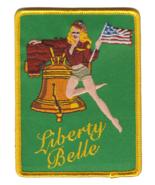 USMC VAW-115 LIBERTY BELLE NOSE ART GIRL PATCH NEW!!! - $11.87