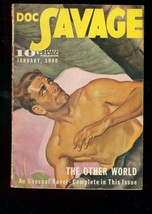 Doc Savage Pulp January 1940 Other World Street & Smith Fn - $181.88