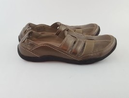 Clarks sport sandals pewter leather collection 6.5 - $28.05