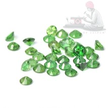Natural Chrome Tourmaline 3mm Round Cut 5 Pieces Top Quality Loose Gemstone - $15.19