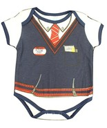 Infant Baby Boys Future Exec Sweater Vest Costume Creeper (3/6 Months) - $2.99