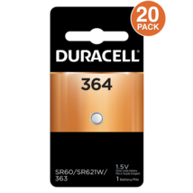 Duracell 364 1.5V Silver Oxide Battery (20 Batteries) - $21.77