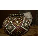 Museum Masterpiece Darien Wounaan Indian Hösig Di Artist Basket Diamonds... - $3,324.05