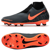 Nike Phantom Vision PRO DF FG Football Shoes Soccer Cleats Black AO3266-080 - $150.99