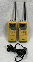 2 Radio Shack TRC-238 Sports 40 Channel  Citizens Band Yellow Transceivers - $84.10