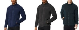 32 Degrees Men's Sherpa Lined Fleece Full Zip Jacket Choose Color & Size - $14.99
