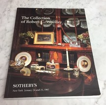 Sothebys NY Robert C. Wooley Collection January 24-25 1997 Auction Catalog - $24.18