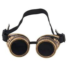 TRIXES Adjustable Steampunk Goggles Party Accessory Fancy Dress Metallic... - $11.39