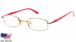NEW HC1804 RED / PINK EYEGLASSES GLASSES METAL FRAME CHILD KIDS 40-17-13... - $14.36