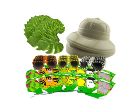 Safari Theme Jungle Birthday Party Bundle Decorations Favors Pack for 12... - $25.23