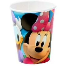 Minnie Mouse Daisy Duck Clubhouse Birthday Party 9 oz Paper Cups 8 Per P... - $3.46
