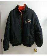 Vintage Pro Player Philadelphia Flyers reversible bomber jacket size L - $49.00