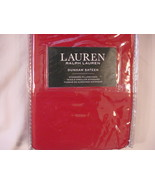 Ralph Lauren Dunham Admiral Red Pillowcases Standard - $25.00