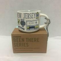 Starbucks New Jersey Been There Ornament Mini Mug 2 OZ - $32.71