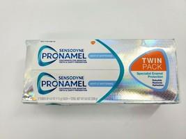 2 PK Sensodyne ProNamel Gentle Whitening Toothpaste, 4 Oz  EXP  12/22 - $11.99