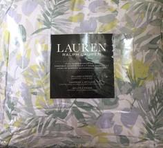 Ralph Lauren MUTED TROPICAL PALMS beautiful colors 3pc Comforter F/Queen... - $132.99