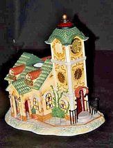Old World Village #4The Clocktower AA18-1373 Vintage image 6