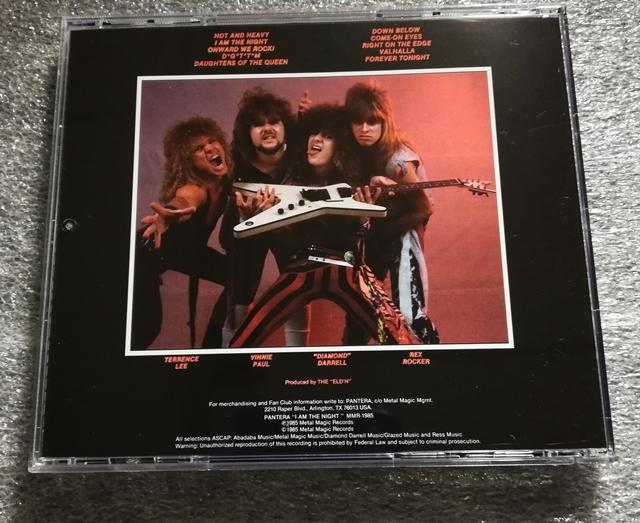 Pantera - I Am The Night CD