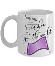 "Aladdin Coffee Mug ""I Can Show You The World Mu... - $14.95"