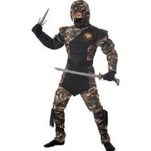 Niños Especial Ops Ninja Kárate Ejército Militar Disfraz Halloween S-L 0... - $27.29