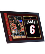LeBron James signed autograph photo print NBA Basketball Miami Heat Framed - $20.55