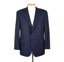 Brooks Brothers Golden Fleece Blue Wool Suit Jacket Blazer Mens Size 44 ... - $49.49