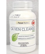 Focus Nutra Ca Ven Cleanse Pro 60 Capsules - New Sealed - $19.99