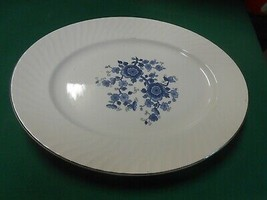 Beautiful ROYAL BLUE ironstone by WEDGWOOD England---...PLATTER  - $14.44