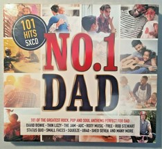 No 1 Dad 101 Of The Greatest Rock, Pop And Soul Anthems 5 CD Album - $10.49