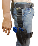 New Barsony Tactical Leg Holster w/ Mag Pouch HK FN Kahr Compact 9mm 40 45 - $54.99
