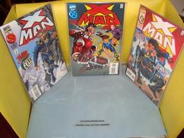 X-Man #5 - 7 Original Marvel Comic Books From 1995 NM Condition X-Men Se... - $2.69