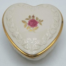 Vintage Lenox Heart Shape Trinket Box Ring Holder - $14.84