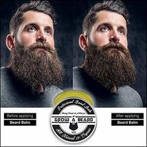 Beard Balm | Leave-in Conditioner & Softener for Men Care | Best Facial Hair & M image 3