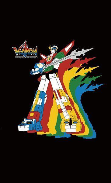 Voltron Defender of the Universe 3/'x5/' Logo Black Flag USA Seller Shipper