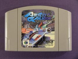 Aero Gauge (Nintendo 64 N64, 1997) Japan Import - $6.03